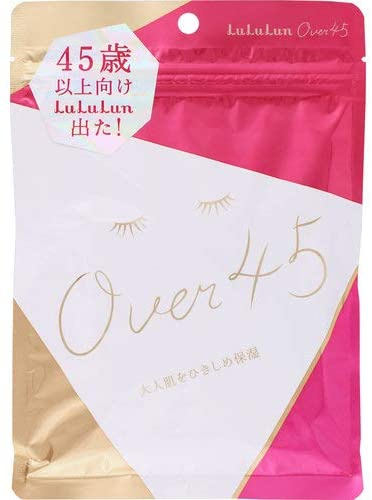 LuLuLun Over 45 Camellia pink 7 sheets
