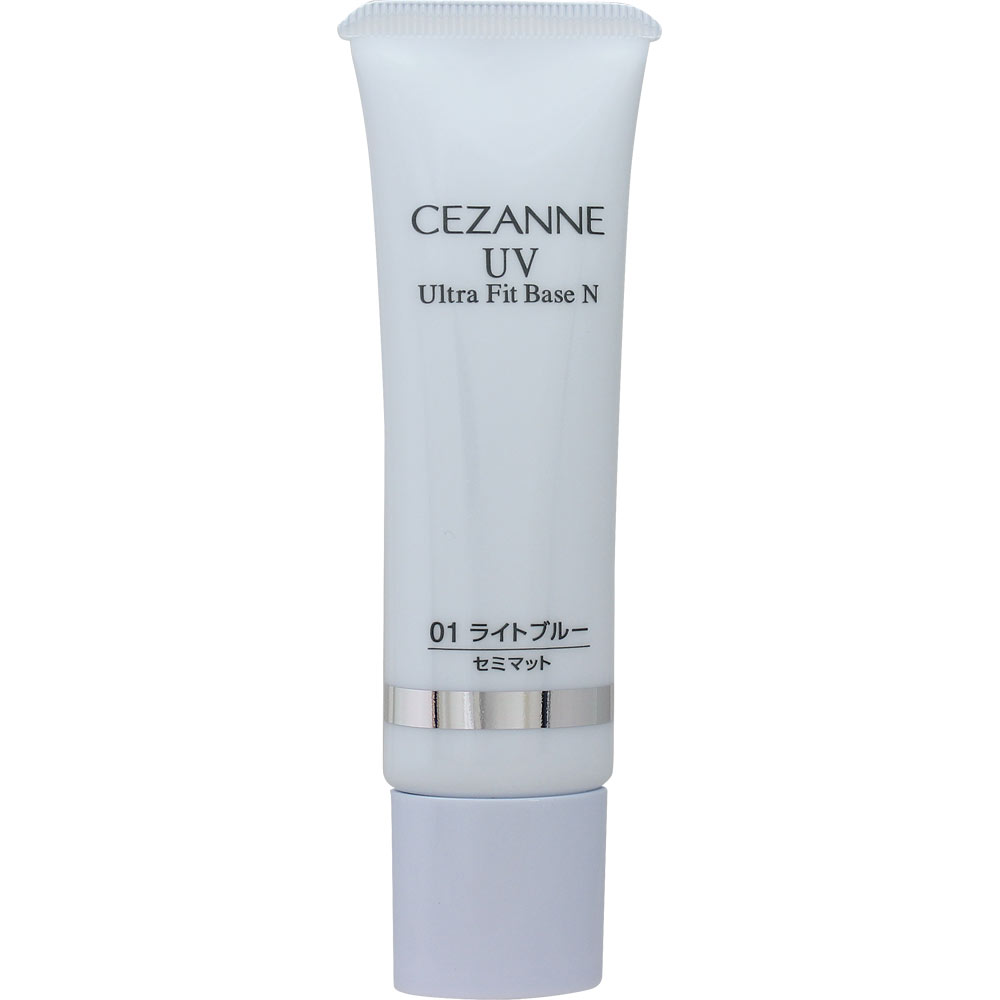 Cezanne Ultra fit base N SPF 36++ 01 Light Blue